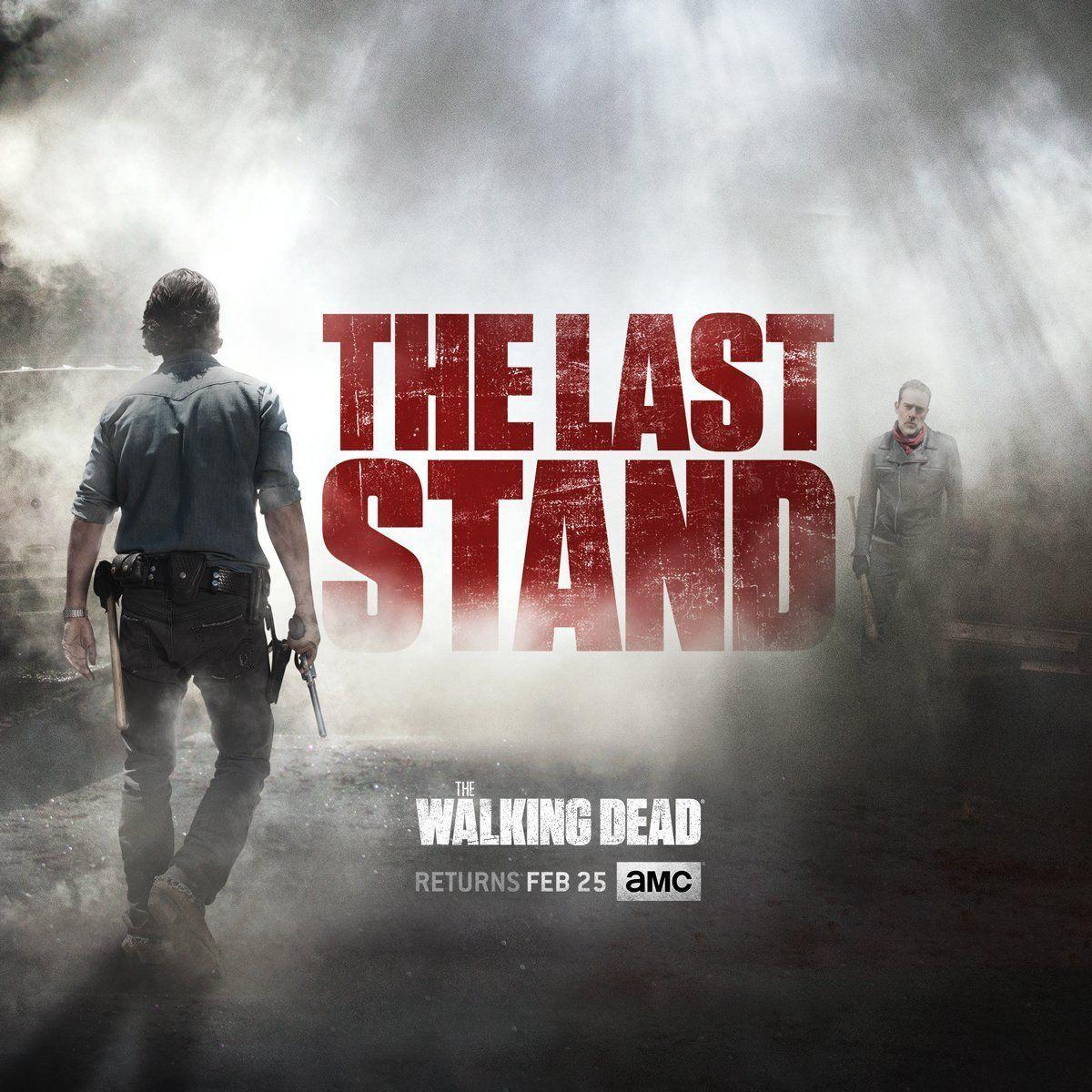 The Walking Dead Last Stand Season 8b Key Art Released Walking Dead Season The Walking Dead Walking Dead Season 8