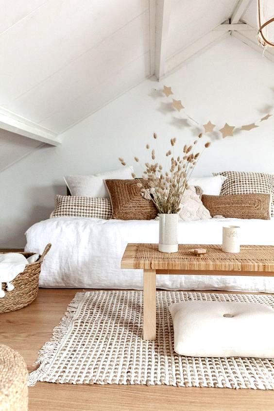 Scandinavian Bohemian Home Decor Eclectic Interiors Design Minimalism Maximalism Patte Simple Bedroom Decor White Living Room Interior Design Living Room