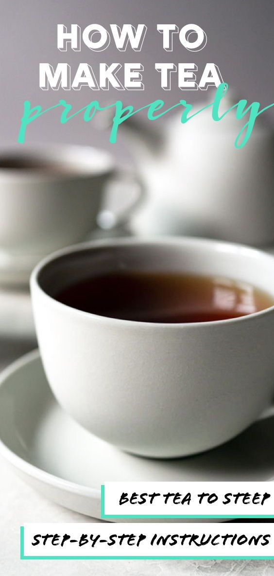 how to make a perfect pot of tea