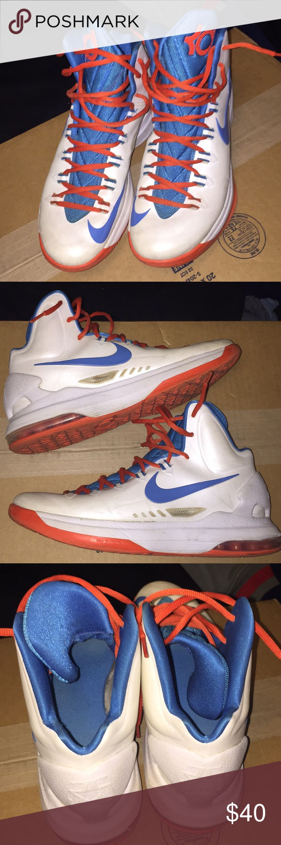 new products 8a581 64cf6 Nike Zoom KD V5 SZ10 SZ10 Nike Shoes Sneakers