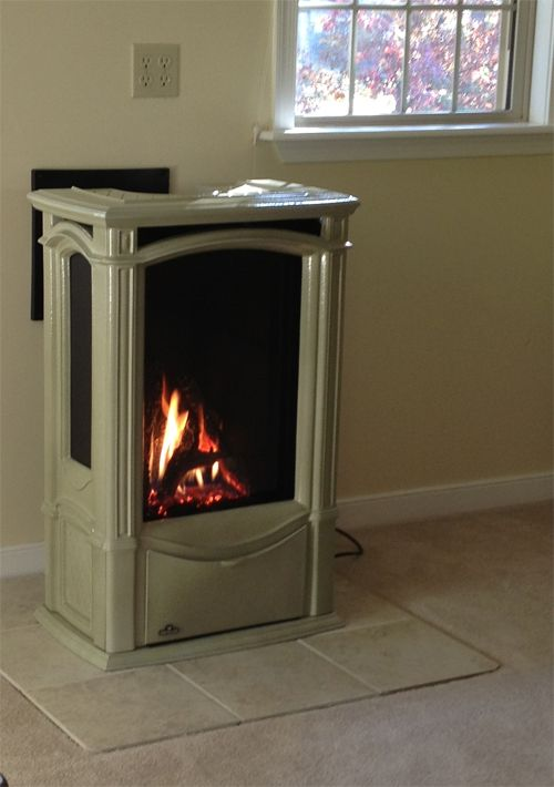 Castlemore Freestanding Gas Stove Home Fireplace Victorian