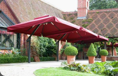 Delightful Garden Umbrellas Poggesi · Large Patio ...