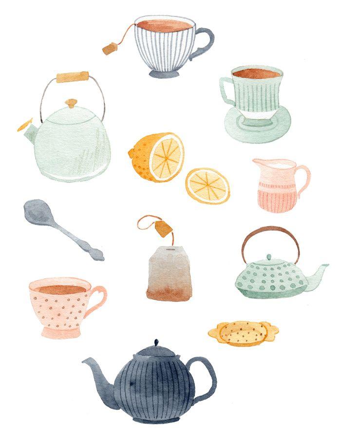 Tea print | Julianna Swaney