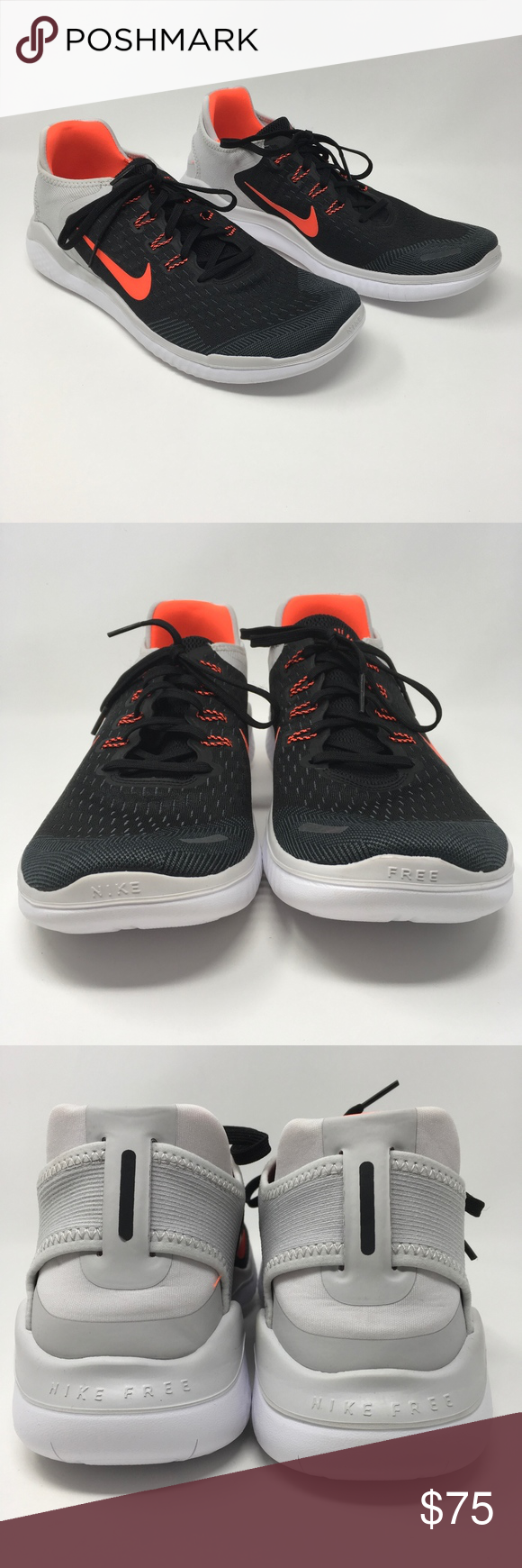 2aed15eec46 Nike Free RN 2018 Running Shoes 942836-005 Sz 12 These mens Nike shoes are