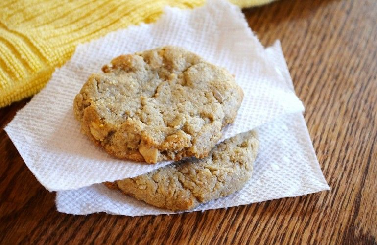 Vegan/Paleo Flourless Cashew Cookies