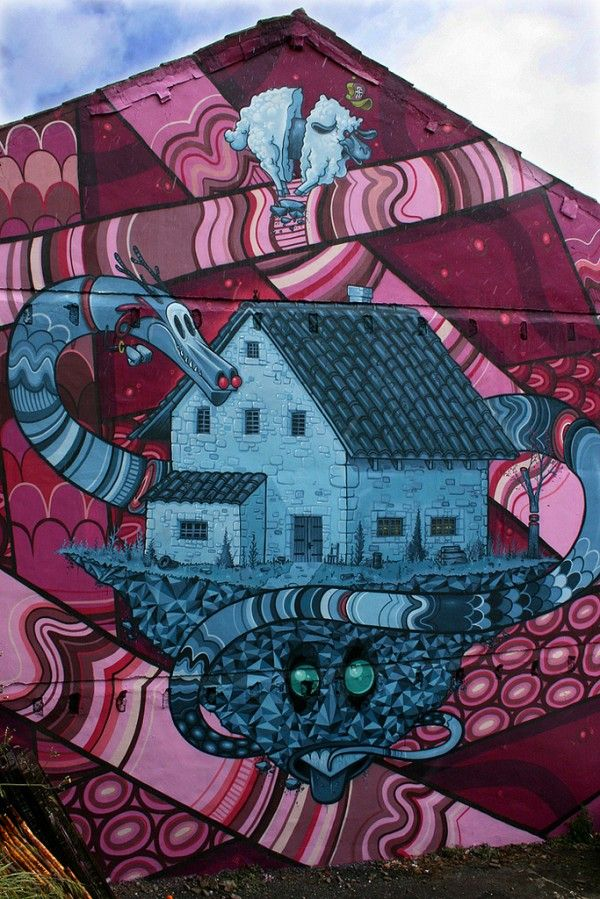 Pin de Dree Pettis en look around | Arte urbano, Graffiti ...