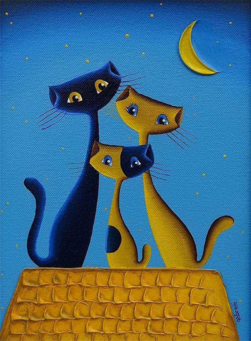Барашки, кошки и другие… |Художница Gabriele Elgaafary ...