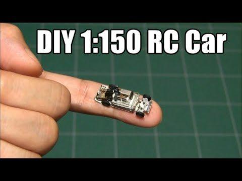 Diy How To Make 1 150 Micro Rc Car Youtube Micro Rc Micro Rc Cars Rc Cars