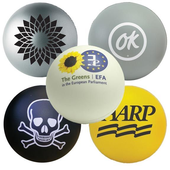 Promotional Stress Ball Available In