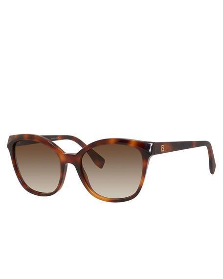 FENDI Squared Cat-Eye Sunglasses. #fendi #
