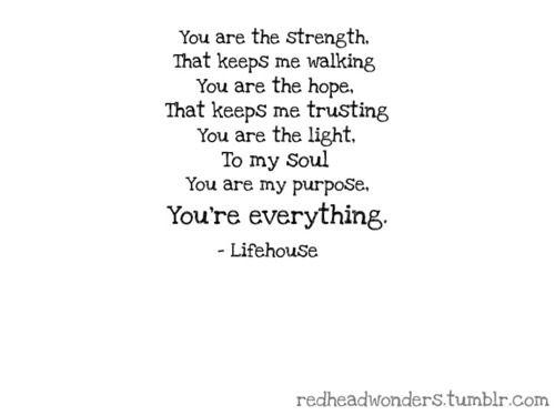 Lifehouse Everything Lyrics Lifehouse Everything Tumblr God