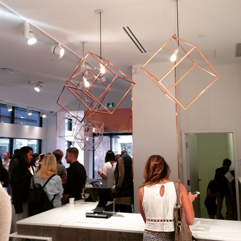 Modern In Design These Copper Pendant Lights Makes A Bold