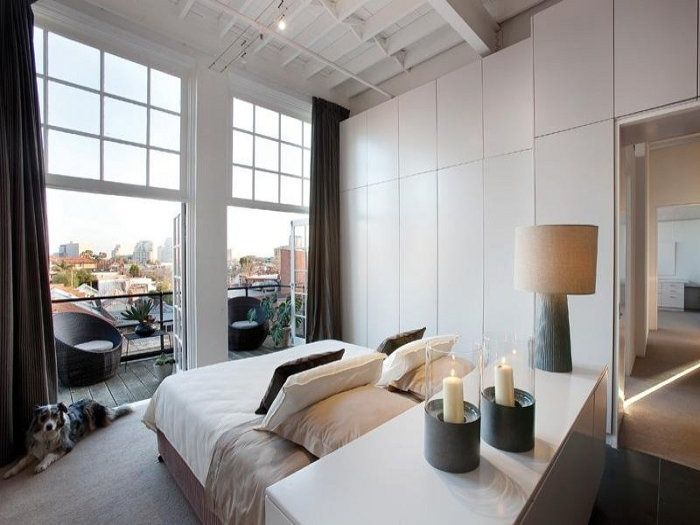 45 Cool Ideas To Use Space Behind The Bed Bed In Middle Of Room