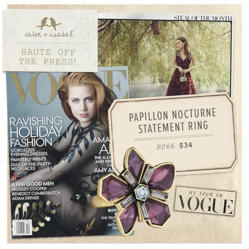 WOW! Chloe and Isabel featured in VOGUE! Get a Anna
