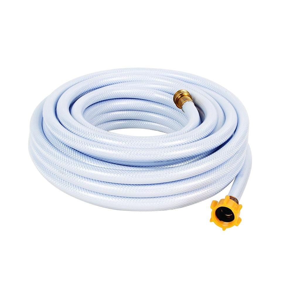 Camco Tastepure 0 5 In X 50 Ft Reinforced Fresh Water Hose 22753 Water Hose Drinking Water Water Garden