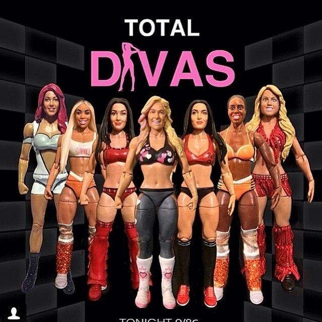 Wwe Total Divas Acton Figure Total Divas Wwe Total Divas Wwe Wrestlers