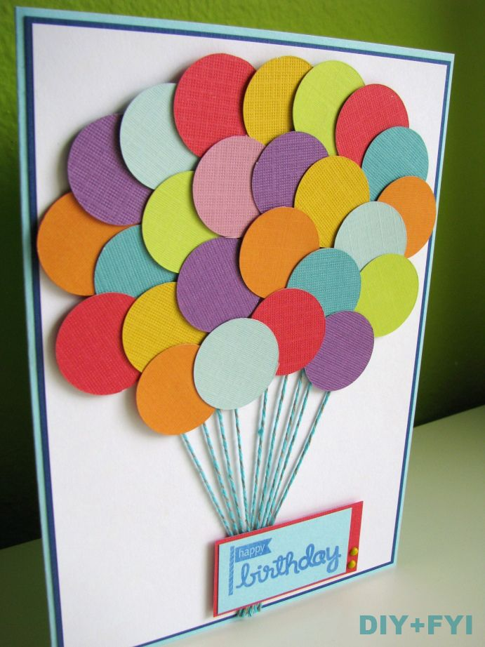 handmade birthday card ideas with tips and instructions to