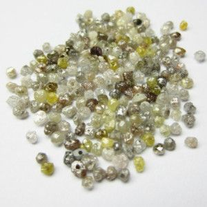 LOT OF 3.0 CT NATURAL MIXED COLOR LOOSE DIAMOND ROUGH BEADS FOR NECKLACE DIRECT FROM DIAMOND MANUFACTURER THAT WILL MAKE YOU LOOK REALLY GORGEOUS at wholesale price.