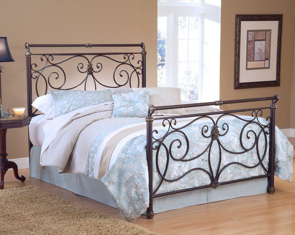Amazon Com Hillsdale Furniture 1643bfr Brady Bed Set With Rails