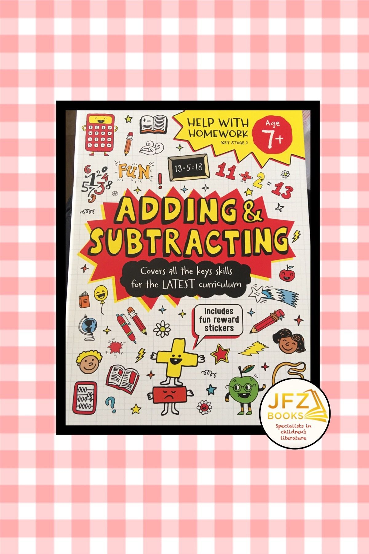 Pin By Javeria Fatima Zaidi On Jfz Books Reward Stickers Adding And Subtracting Subtraction Key stage addition and subtraction