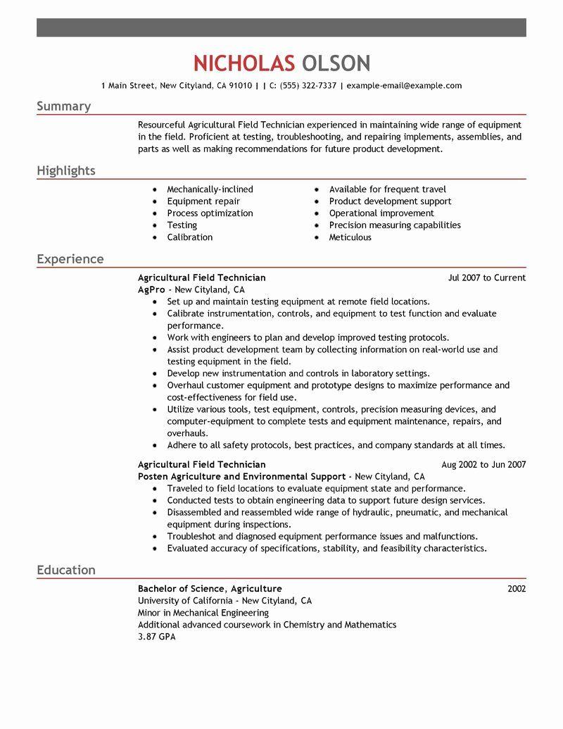 Resume Examples Diesel Mechanic With Images Sales Resume