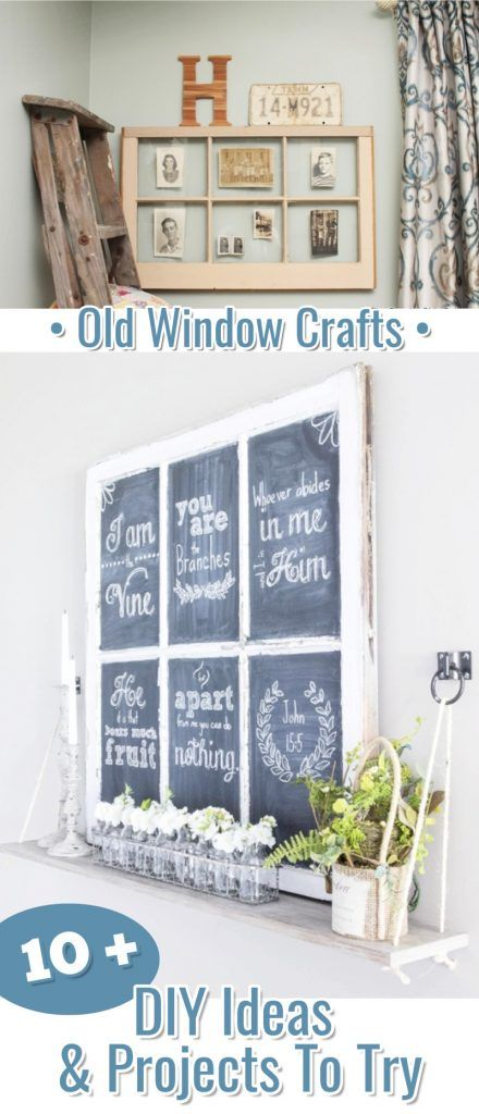 Old Window Frames DIY Ideas and Window Frame Crafts | Involvery.com ...