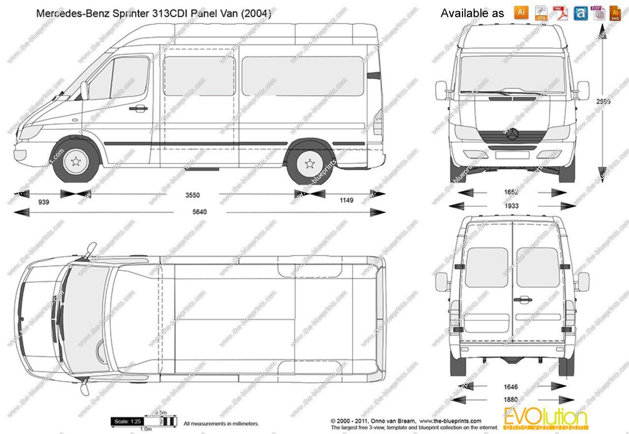 Mercedes Sprinter 313 Cdi Lwb Dimensions 4 In 2021 Mercedes Sprinter Benz Sprinter Mercedes