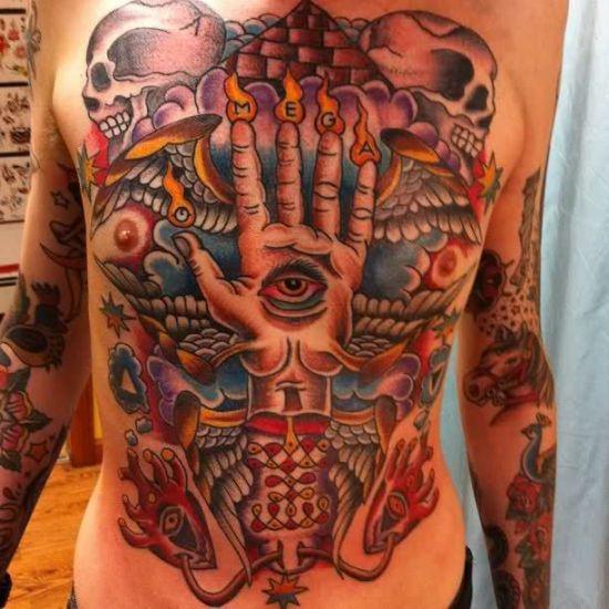 Freimaurer Tattoo