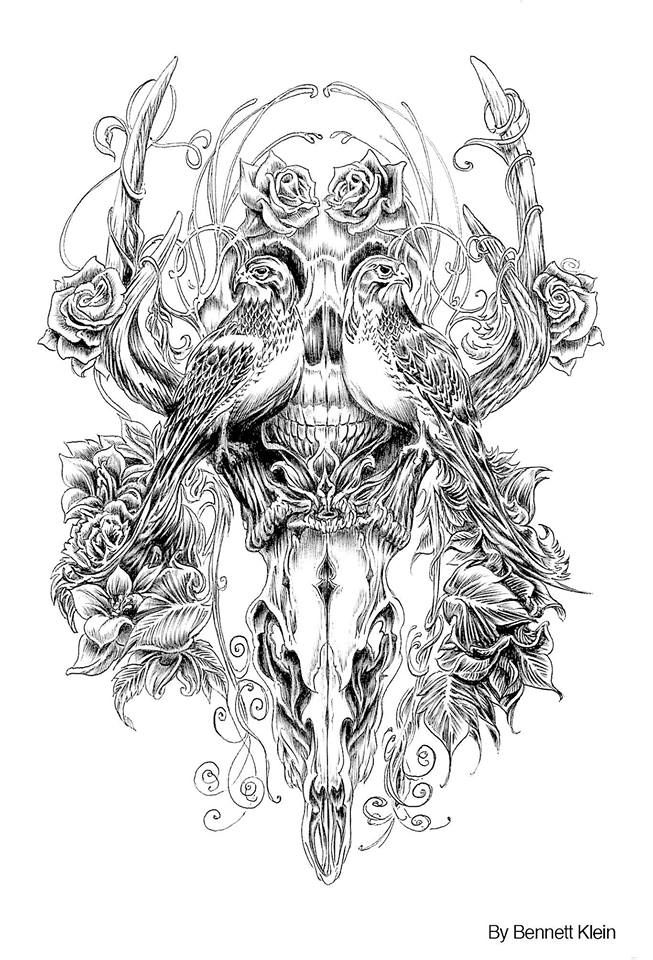 11222947 1485191721776680 8341651274876892164 N Jpg 653 960 Skull Coloring Pages Steampunk Coloring Animal Coloring Pages