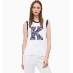 Photo of Outlet – Calvin Klein tank top with logo application M – Sale …