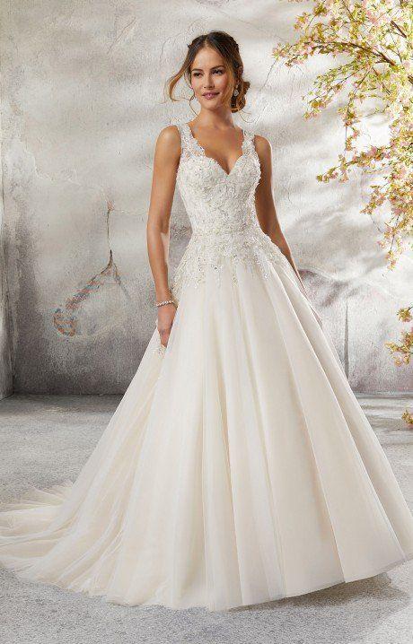 Mori Lee Bridal 5697 #bridal #tulleballgown