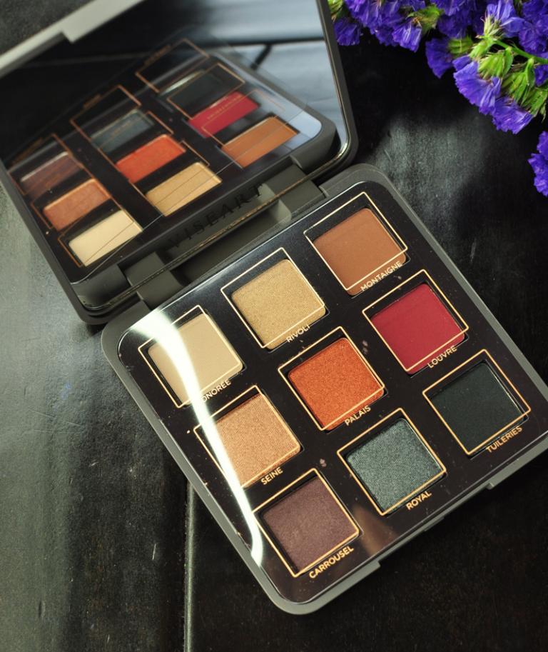 The Viseart Golden Hour Eyeshadow Palette Review Beauty Bloggers