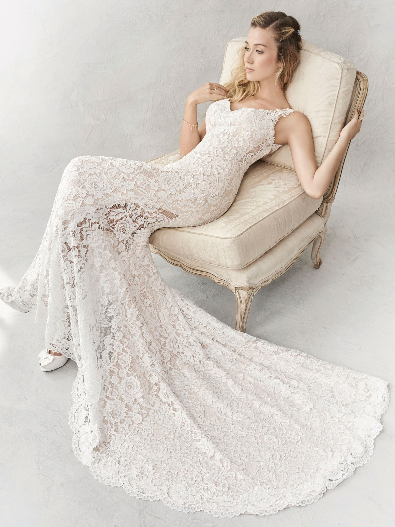 Ella Rosa Style Be356 Gorgeous Lace Gown With Illusion Inserts And Sheer Back Romantic Wedding Dress Brida Wedding Dresses Lace Bridal Gowns Ball Dresses