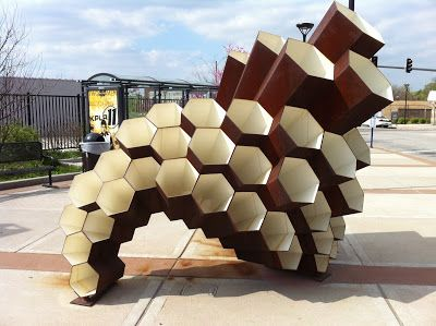 HEXigloo: Honeycomb Cardboard Pavilion Pops Up In Bucharest!... |  Honeycombs, Pavilion And Parametric Design