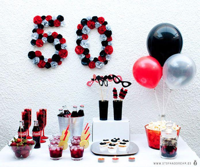 Fiesta 50 cumpleaños Fiestas, Cumpleaños y Cumple
