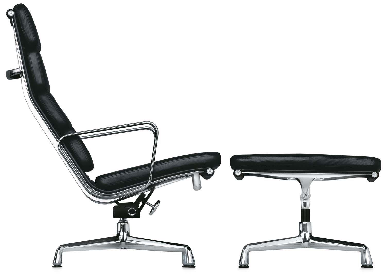 Aluminium Chair Soft Pad EA 222 von Vitra Eames