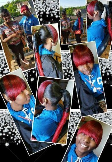 Extended ponytail