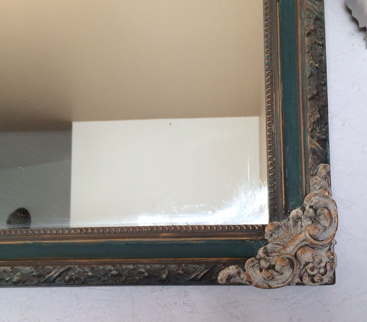 hand painted home décor, painted mirror frame, painted furniture ...