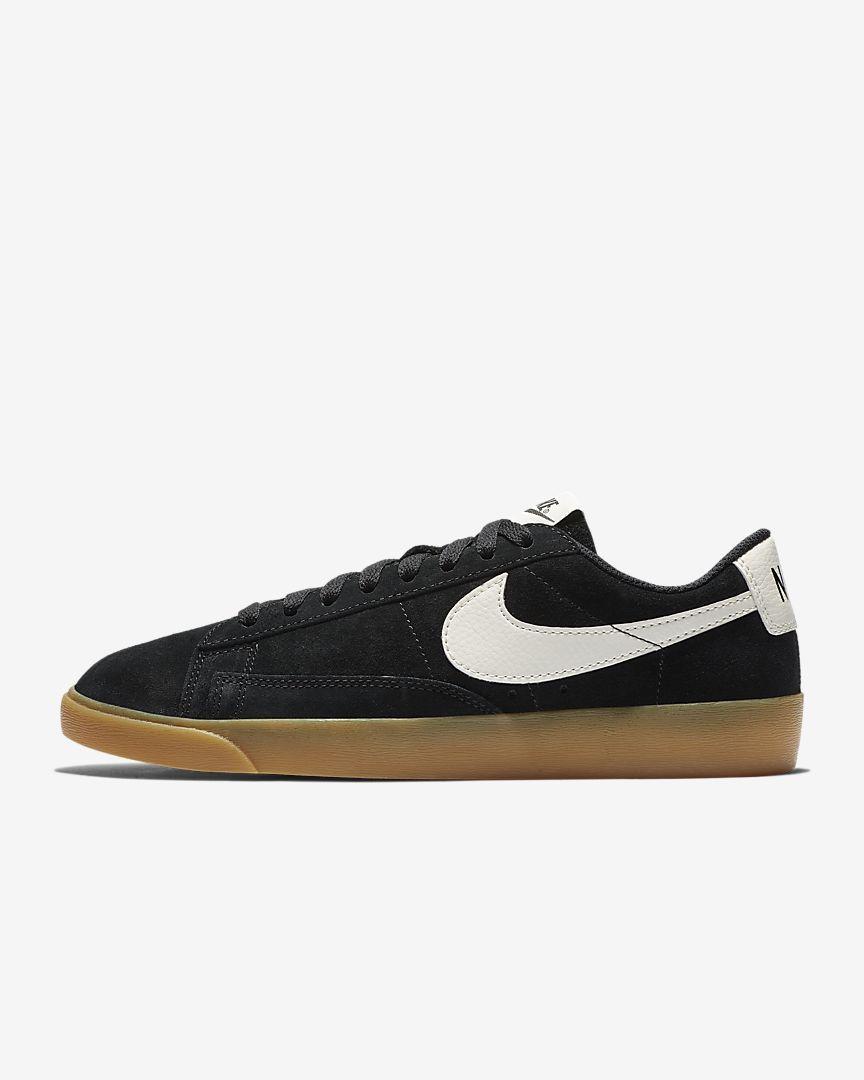 Nike Air Blazer Low Suede Sneakers