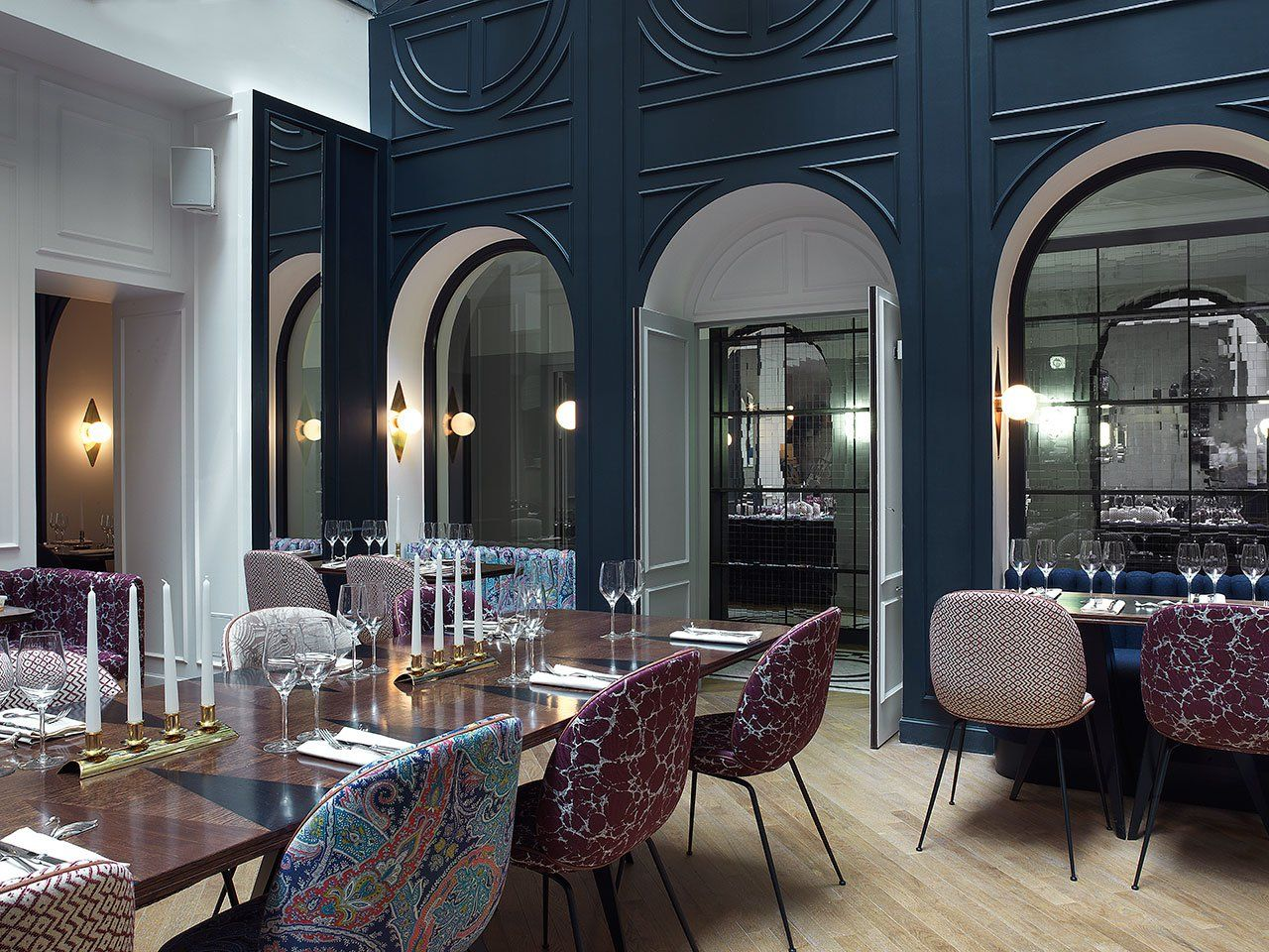 Art deco thrills at hotel bachaumont paris cafes restaurants