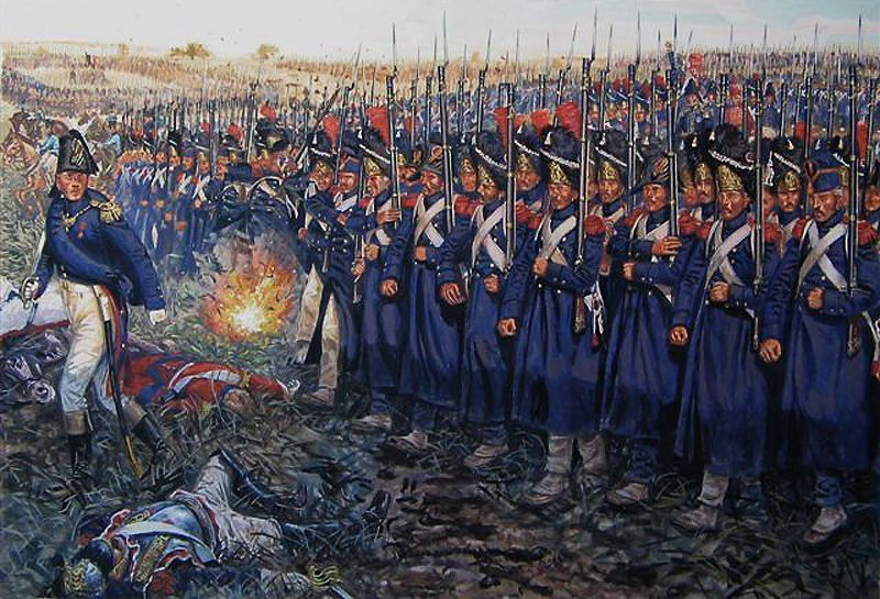 The attack of the Imperial Guard at Waterloo