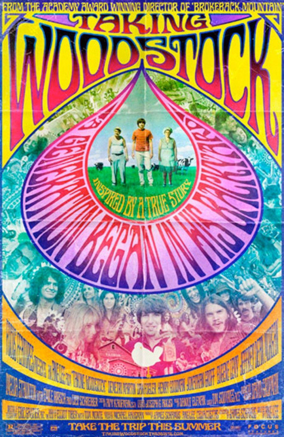 The Woodstock Poster. | Design & Color | Pinterest