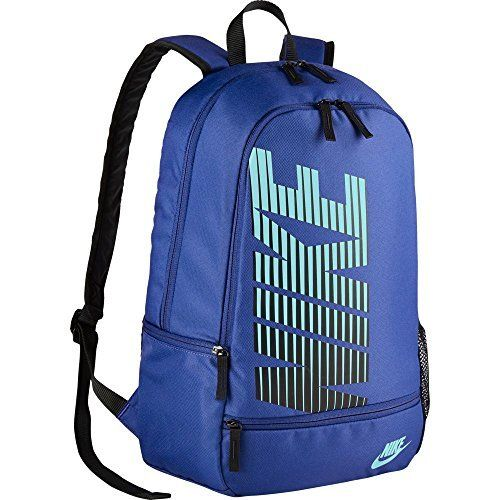 94f815de5e Nike Classic North Logo Graphic Backpack Game Royal Copa. 600D polyester  with a dense