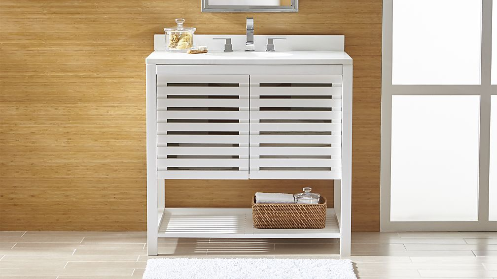12 Excellent Crate And Barrel Bathroom Vanity Inspiration For You
