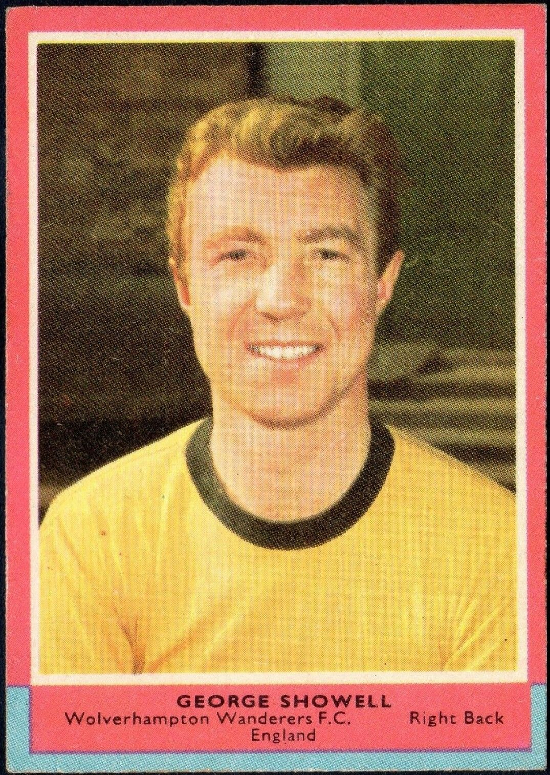 George Showell of Wolves in 1964.