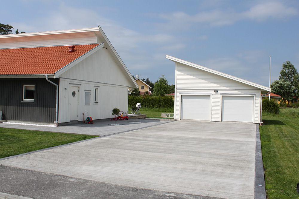 garageuppfart betong kostnad