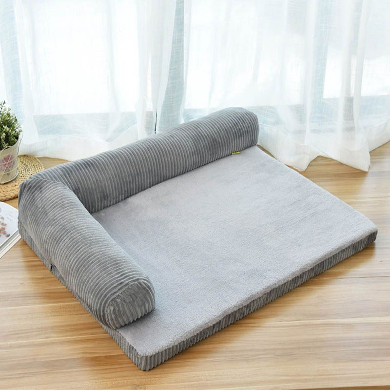 This Lovely Dogbuds Large Dog Bed Dog Sofa Bed Headrest Is On Flash Sale At 50 Off For Only 54 95 Today If You Didn T Know Dog Sofa Bed Dog Sofa Dog Bed