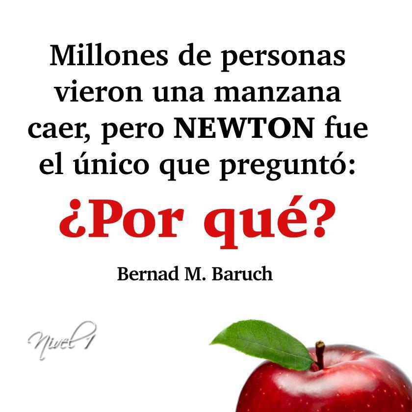 Millones de personas vieron una manzana caer, pero Newton fue el - best of tabla periodica de los elementos mas importantes