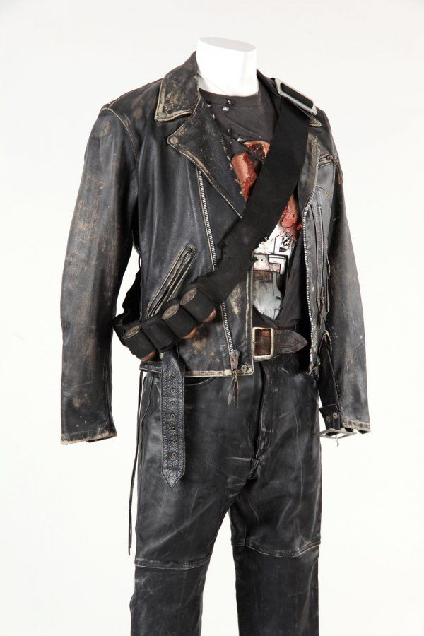 Arnold Schwarzenegger T-800 costume from Terminator 2 | Movie Props