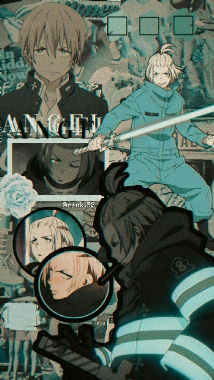 Arthur Fire Force Enen No Shoubotai Anime Cute Anime Wallpaper Anime Wallpaper